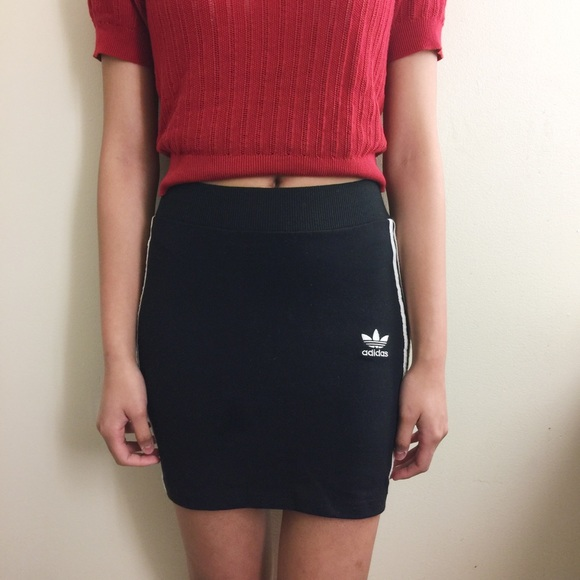 adidas Dresses & Skirts - Adidas Orginal 3-Stripe Skirt